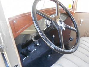 ford model a interior