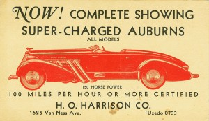 auburn speedster advertisement