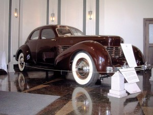 1936 cord 810 automobile