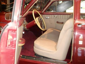 tucker car interior