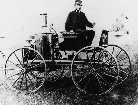 Early steam powered vehicles auto museum online for Car carriage