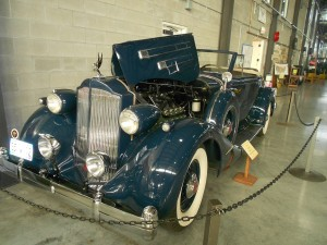 1935 packard e12 convertible coupe