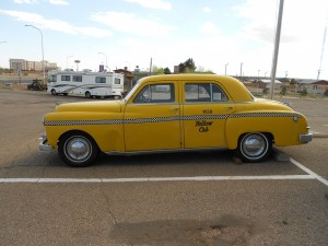 dodge yellow cab