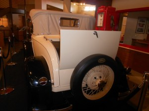 ford model a rumble seat
