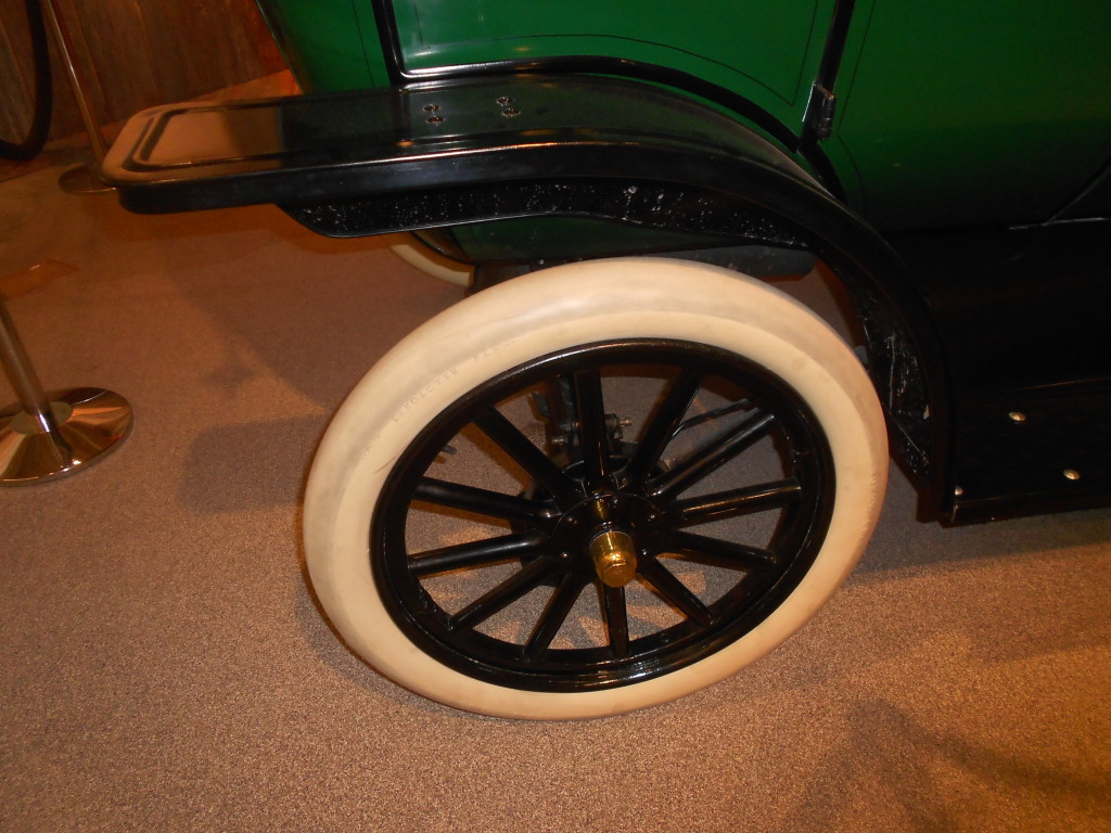 Classic Ford Model T tire