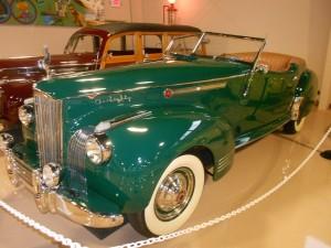 1941 Packard 180 Darrin Victoria