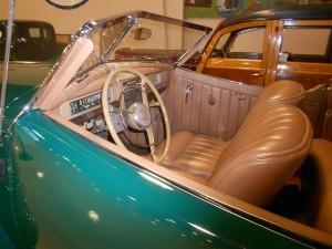 1941 Packard interior