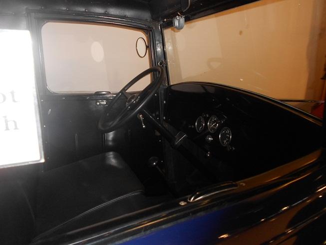 1935 Chevy Truck interior