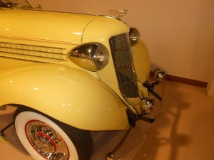 Front end of the 1935 Auburn Speedster