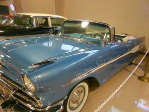 1957 Pontiac Star Chief new side streak design