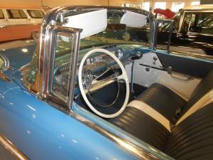 1957 Pontiac interior