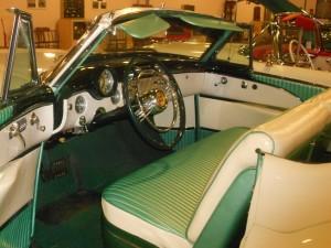1953 Buick Skylark Convertible interior