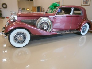 1933 Duesenberg Model J Touring Sedan