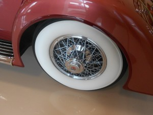 1933 Duesenberg Model J wide whitewalls