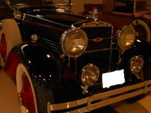 1929 Stutz M Series Le baron front end grille