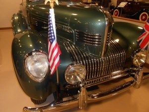 1939 Chrysler Phaeton Limousine front end grille work