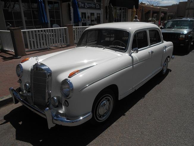 1958 mercedes benz 220s ponton sedan auto museum online. Black Bedroom Furniture Sets. Home Design Ideas