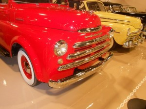 1948 Dodge Truck grille and enlarged front bumper