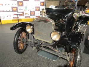 Ford Model T wood spoked wheels