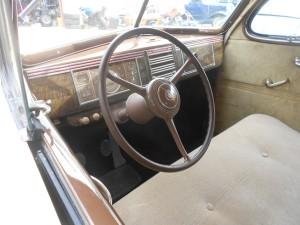 1939 Plymouth flat dashboard