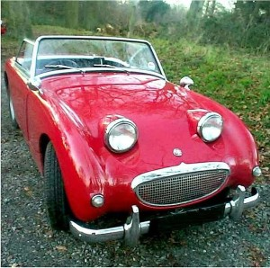 1960 Austin_Healey Sprite. Photo from the public domain