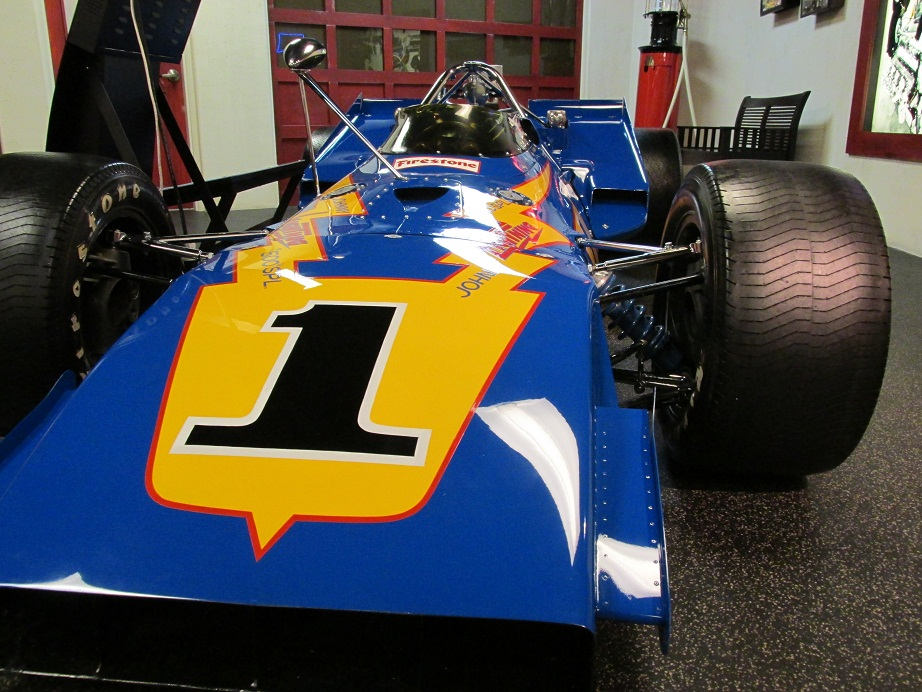 iny race car al unser