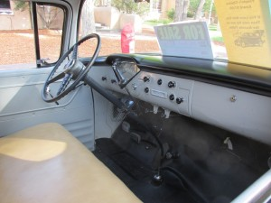 1956 Chevrolet 3100 Pickup dash