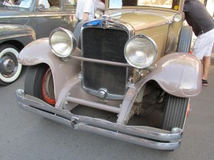 1929 Nash front end and grille