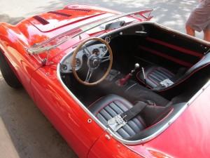 Austin-Healey 100/4 interior