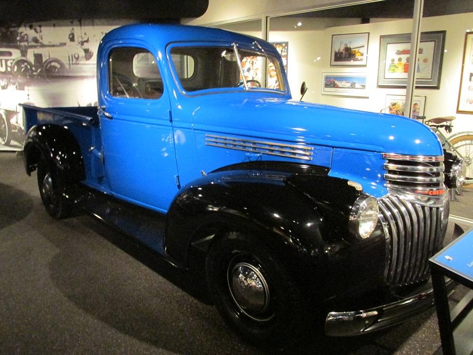 1941 chevrolet half ton pickup auto museum online. Black Bedroom Furniture Sets. Home Design Ideas
