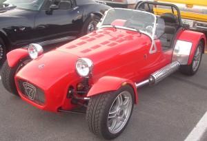 A popular replica car is the Lotus Seven