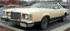 1978 Ford Thunderbird, public domain photo