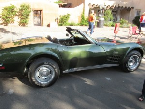 1970 Corvette Stingray flared fenders