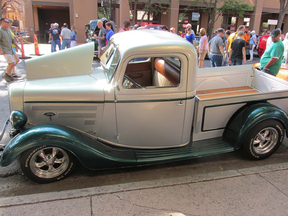 Ford truck 1935