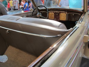 1936 Chrysler dashboard