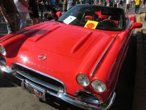 1962 Corvette front end