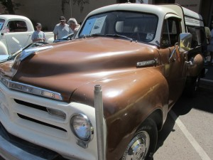 Studebaker Pickup with camper shell