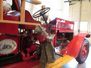 1927 American laFrance Fire Truck at San Antonio Fire Museum