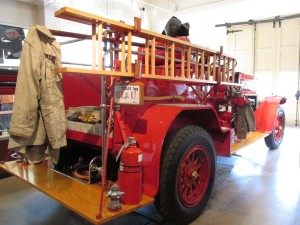 1927 American LaFrance Fire Truck on display at the San Antonio Texas Fire Museum