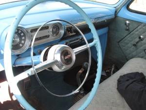 1954 Chevy dashboard