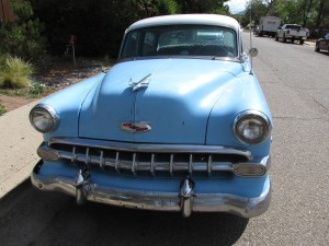 1954 Chevy new front grille design