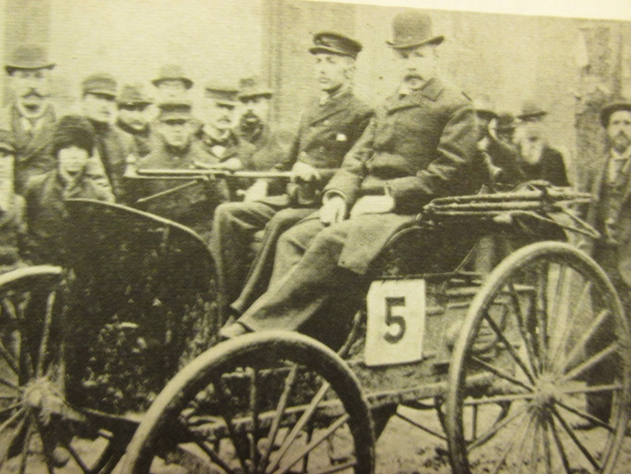 The Very First Auto Race   Auto Museum Online
