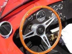 AC Sports Car dashboard