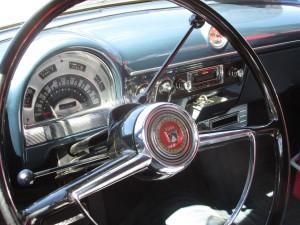 1953 Ford Crestline Victoria dashboard