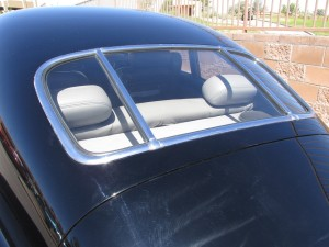 Cadillac new design rear window