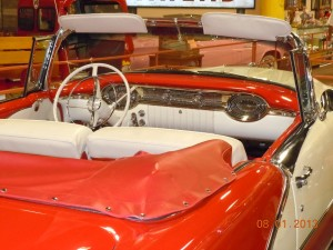1956 Olds Rocket 88 Convertible interior