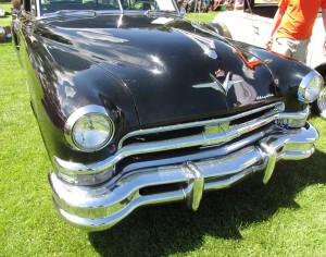 Lots of chrome on the 1952 Imperial grille