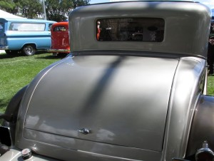 1931 Dodge curved back styling