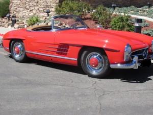 1958 Mercedes Roadster