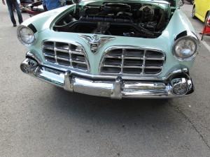 1955 Imperial split grille